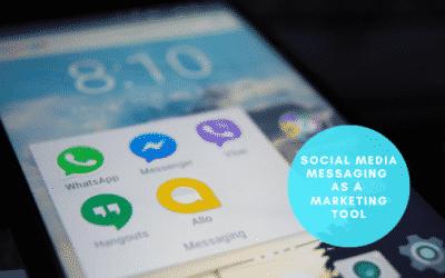 Social Media Messaging as a Marketing Tool