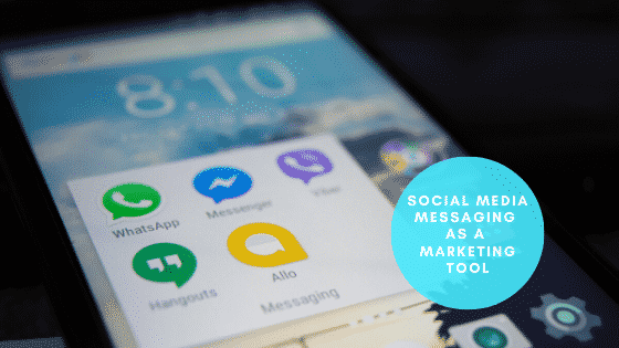 Social Media Messaging as a Marketing Tool